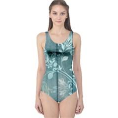Green Tree One Piece Swimsuit