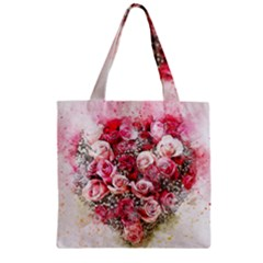 Flowers 2548756 1920 Zipper Grocery Tote Bag