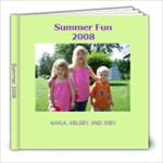 Summer at Grandpa s 2008 - 8x8 Photo Book (20 pages)