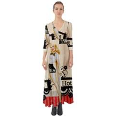 Retro 1112777 960 720 Button Up Boho Maxi Dress