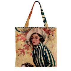Cosmopolitan Fc November 1917 Zipper Grocery Tote Bag