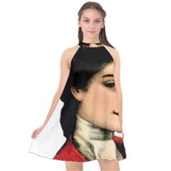 Lady 1032898 1920 Halter Neckline Chiffon Dress