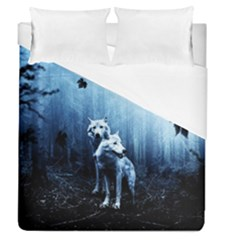 Wolfs Duvet Cover (queen Size)