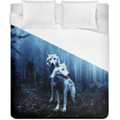 Wolfs Duvet Cover (california King Size)