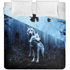 Wolfs Duvet Cover Double Side (king Size)