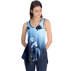 Wolfs Sleeveless Tunic