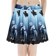 Wolfs Pleated Mini Skirt