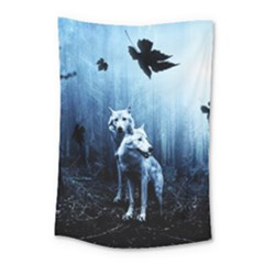 Wolfs Small Tapestry