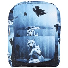 Wolfs Full Print Backpack