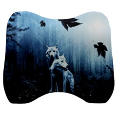 Wolfs Velour Head Support Cushion