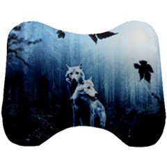 Wolfs Head Support Cushion
