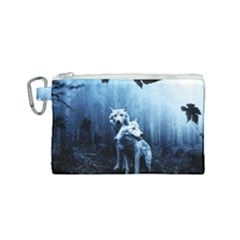 Wolfs Canvas Cosmetic Bag (small)