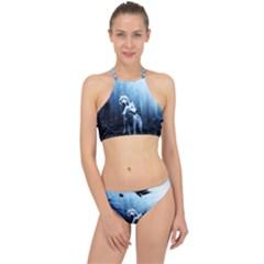 Wolfs Racer Front Bikini Set