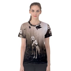 Wolfs Women s Cotton Tee