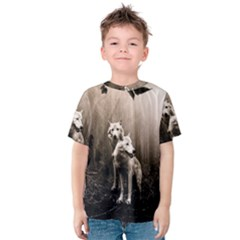 Wolfs Kids  Cotton Tee
