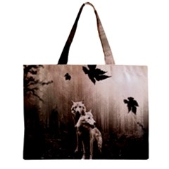 Wolfs Mini Tote Bag