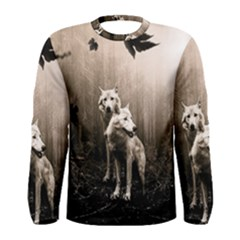 Wolfs Men s Long Sleeve Tee