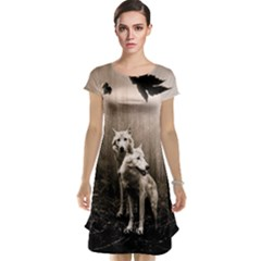 Wolfs Cap Sleeve Nightdress