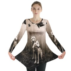 Wolfs Long Sleeve Tunic