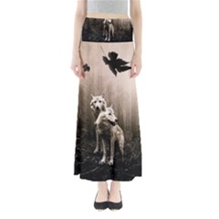 Wolfs Full Length Maxi Skirt