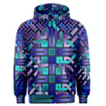 Blue Celtic Knot Square Men s Pullover Hoodie