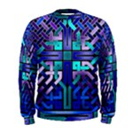 Blue Celtic Knot Square Men s Sweatshirt