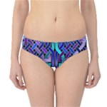 Blue Celtic Knot Square Hipster Bikini Bottoms