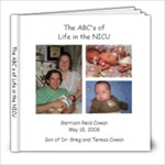 The ABC s of Life in the NICU - 8x8 Photo Book (30 pages)