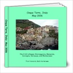 Cinque Terre 2006 - 8x8 Photo Book (20 pages)