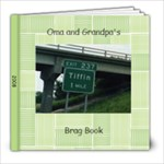 Oma and Grandpa s Brag Book - 8x8 Photo Book (30 pages)