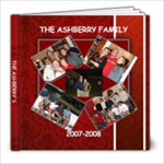 THE ASHBERRY FAMILY - 8x8 Photo Book (20 pages)