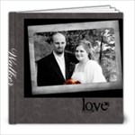 Walker Wedding - 8x8 Photo Book (20 pages)