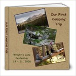 Our First Camping Trip - 8x8 Photo Book (20 pages)