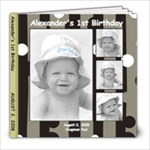 Alexander s 1st Birthday1 - 8x8 Photo Book (20 pages)