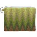 Zig Zag Chevron Classic Pattern Canvas Cosmetic Bag (XXL)