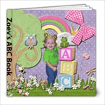 Zoey s ABC book - 8x8 Photo Book (20 pages)