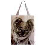 Koala Zipper Classic Tote Bag