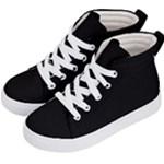 Define Black Kid s Hi-Top Skate Sneakers