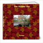 One October Day - 8x8 Photo Book (20 pages)