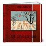 christmas abc s - 8x8 Photo Book (20 pages)