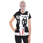 sexy nun halloween costume  Women s Button Up Vest