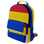 Druze Flag  Flap Pocket Backpack (Small)