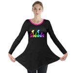 Pop Parade Long Sleeve Tunic