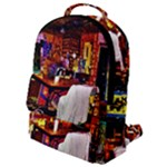 PAINTED HOUSE Flap Pocket Backpack (Small)