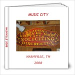 Nashville - 8x8 Photo Book (20 pages)