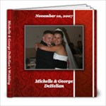 George s Wedding - 8x8 Photo Book (20 pages)