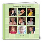 Grandy s Brag Book - 8x8 Photo Book (20 pages)