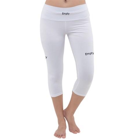 Capri Yoga Leggings Front
