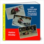 Mattox Wrestling - 8x8 Photo Book (20 pages)