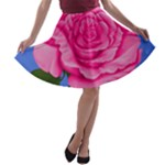 Roses Collections A-line Skater Skirt